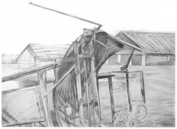 Сельхозтехника | бумага, карандаш 50х33
